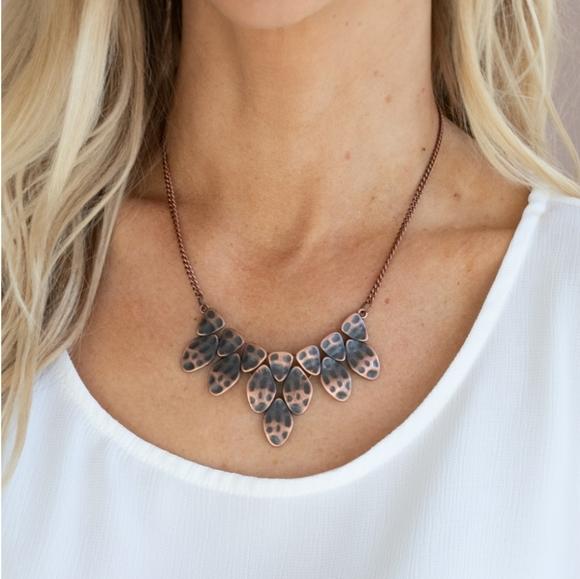 Rustic Smolder Necklace